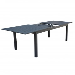 Tavolo Olbia in Alluminio Allungabile Antracite