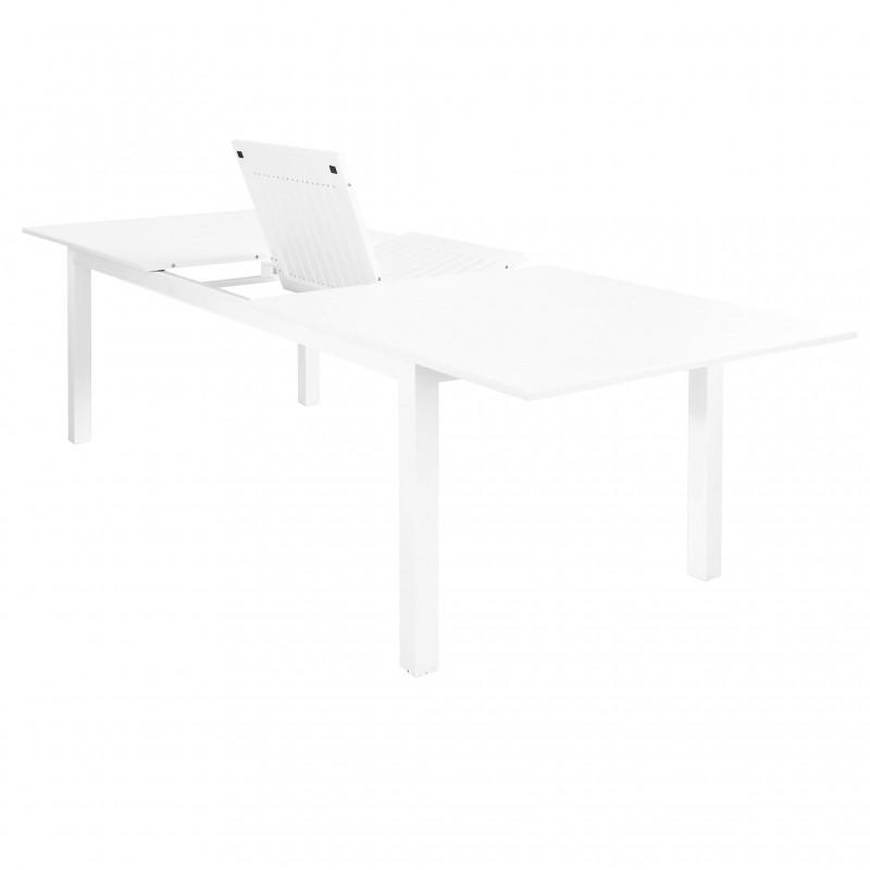 Tavolo Olbia in Alluminio Allungabile  bianco