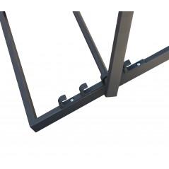 Sdraio Mirto in alluminio Verniciato Vari Colori Dettaglio