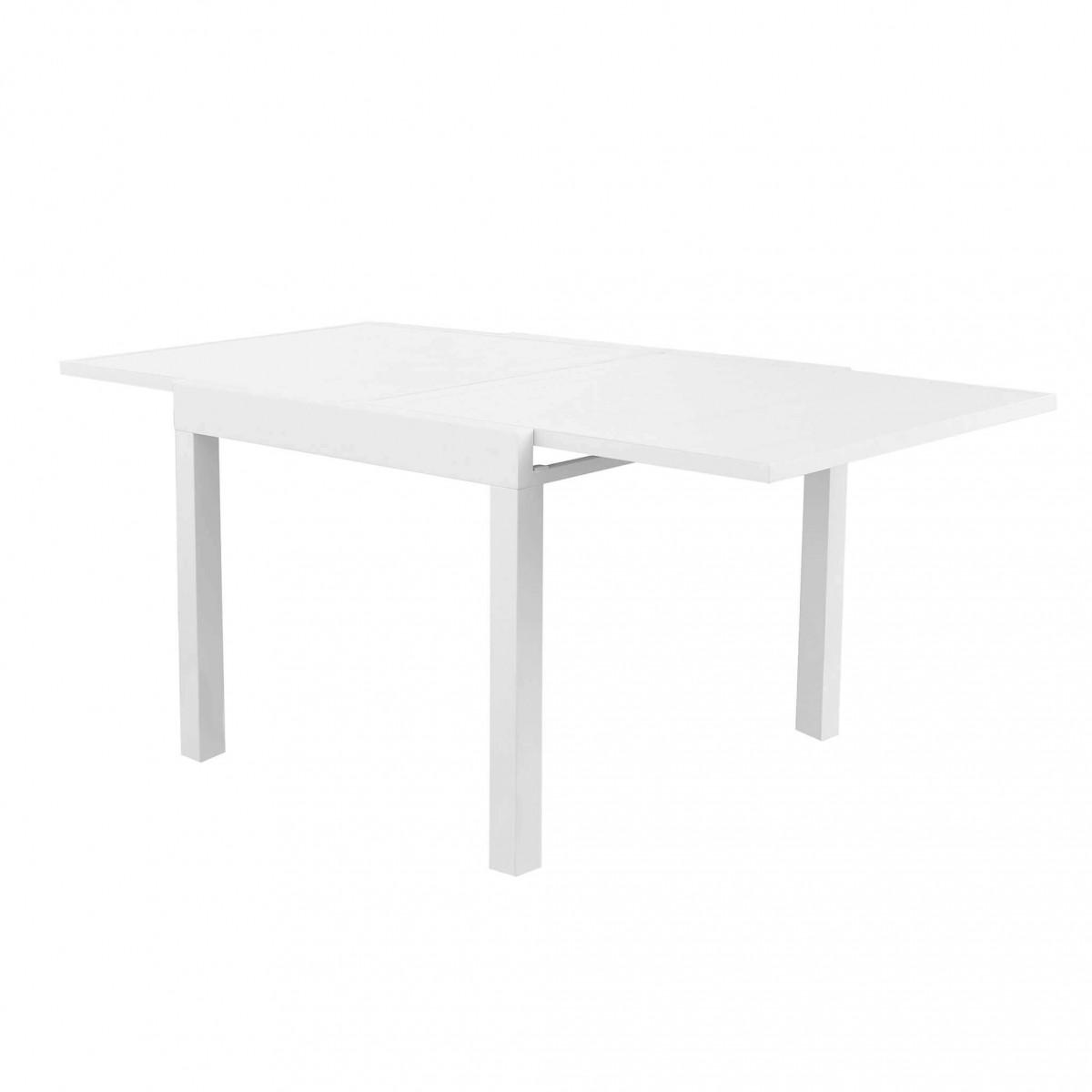 Tavolo Saponara in Alluminio Allungabile  Vari Colori e Misure bianco