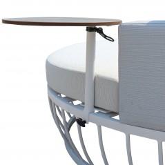 Divano Letto Rotondo Millo con Tavolino tavolino