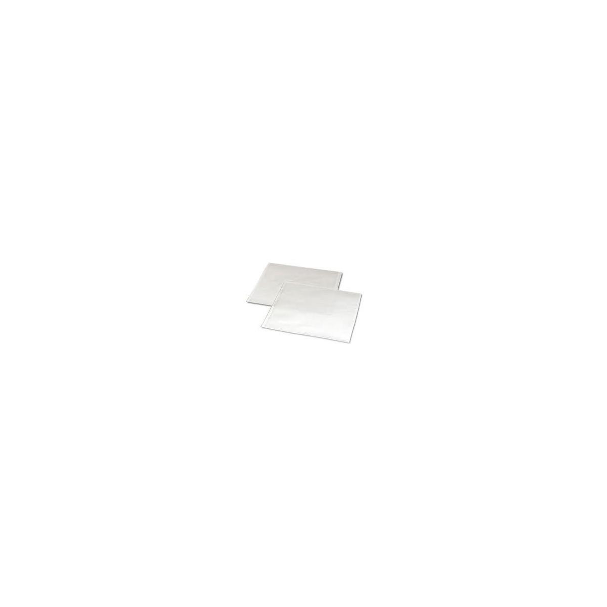 25 Fogli Cm.100x130 in Polipropilene Trasparente Piegati 1x1