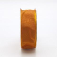 Nastro Tessuto Cangiante Arancio