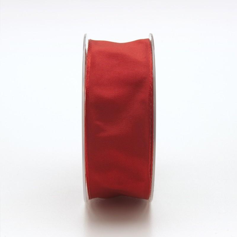 Nastro Tessuto Cangiante Rosso