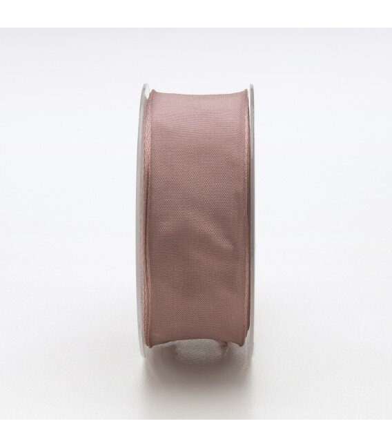 Nastro Tessuto Cangiante Rosa Antico