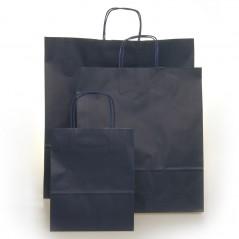 Shopper Carta Colorata Cordino Confezione 25 Pezzi