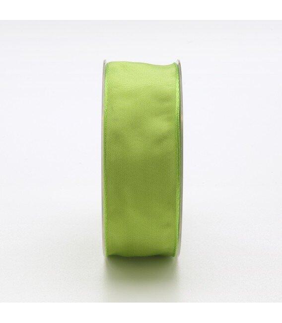 Nastro Tessuto Cangiante Verde Acido