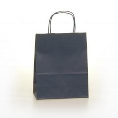 Shopper Carta Colorata Cordino Confezione 25 Pezzi Blu