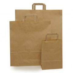 Shopper Carta Sealing Avana Maniglia Piatta