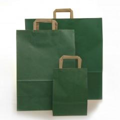 Shopper Carta Colorata Maniglia Piatta