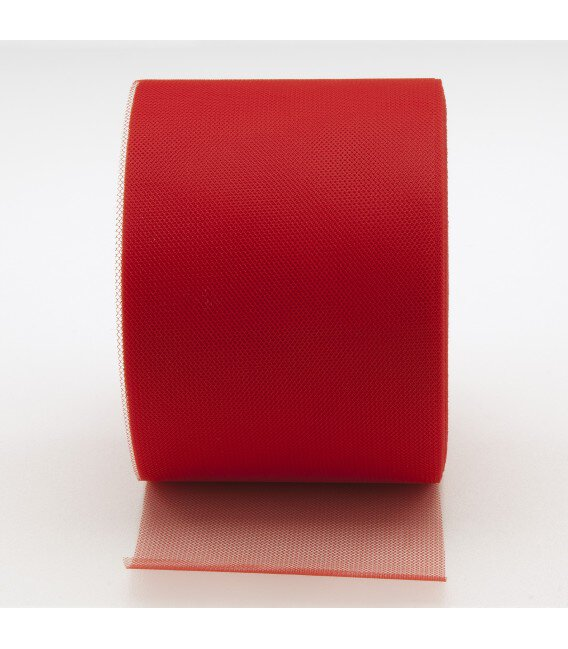 Tulle in Rotolo Rosso