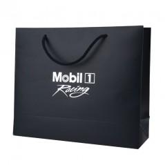 Shopper Lusso Stampati a Caldo Carta Plastificata Lucida e Maniglia Cordino