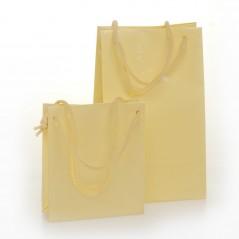 Shopper Plastificato Ludico con Maniglie Cotone Confezione 10 Pezzi