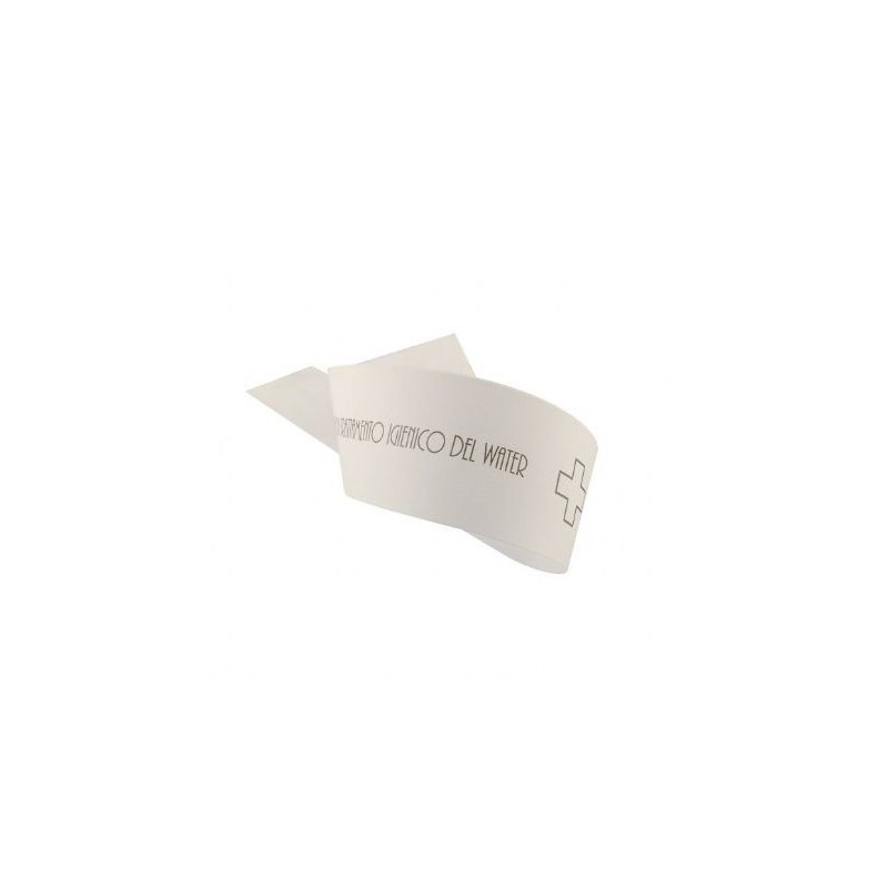 Strisce Garanzia WC in carta