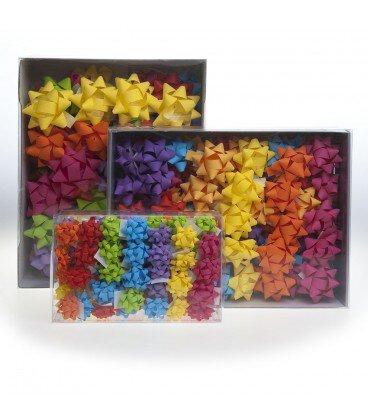 Stelle in Nastro di Carta Sintetica Opaco Mm.7 Confezione 100 Pezzi Colori Estivi