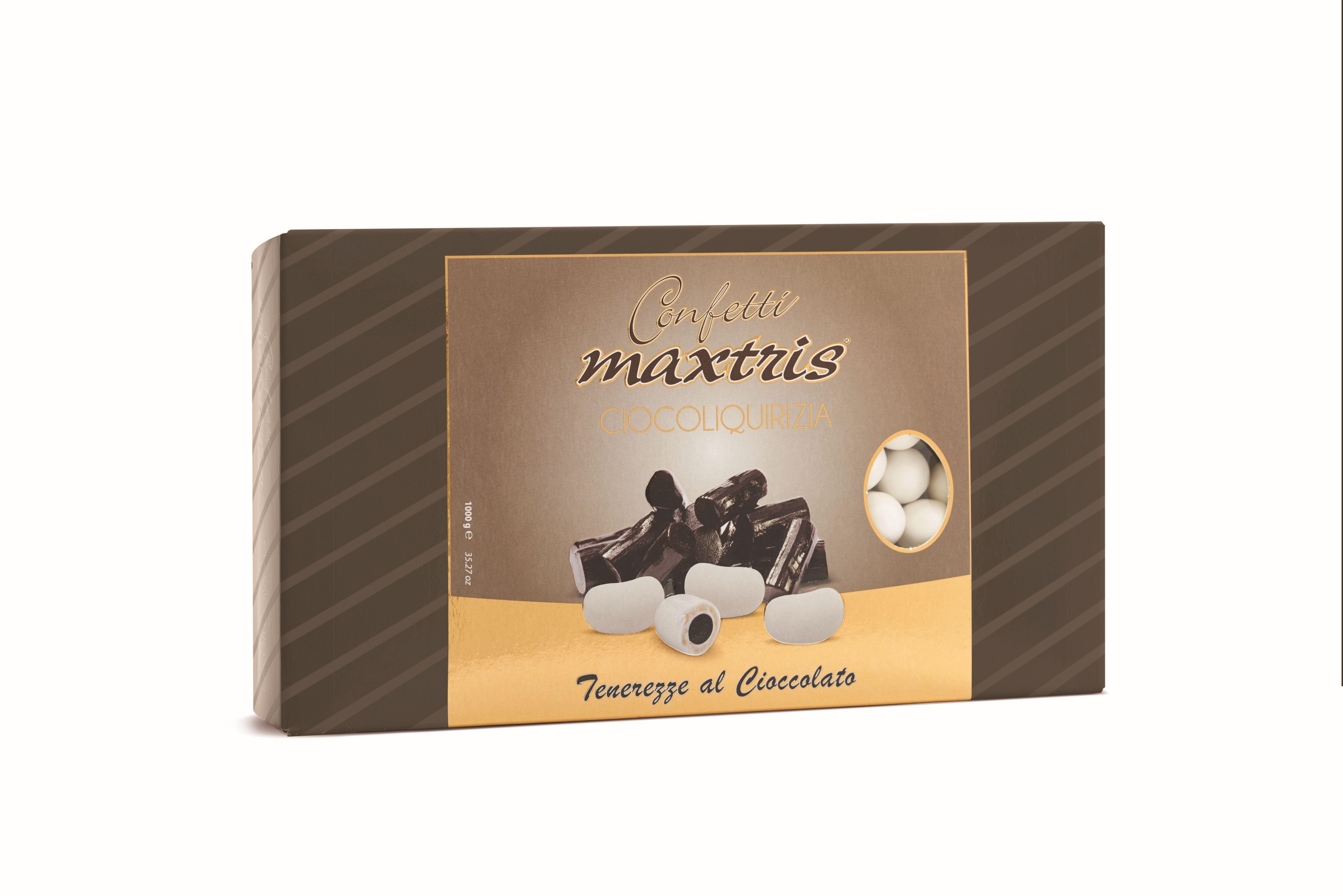 Confetti Maxtris Cioco Liquirizia kg.1