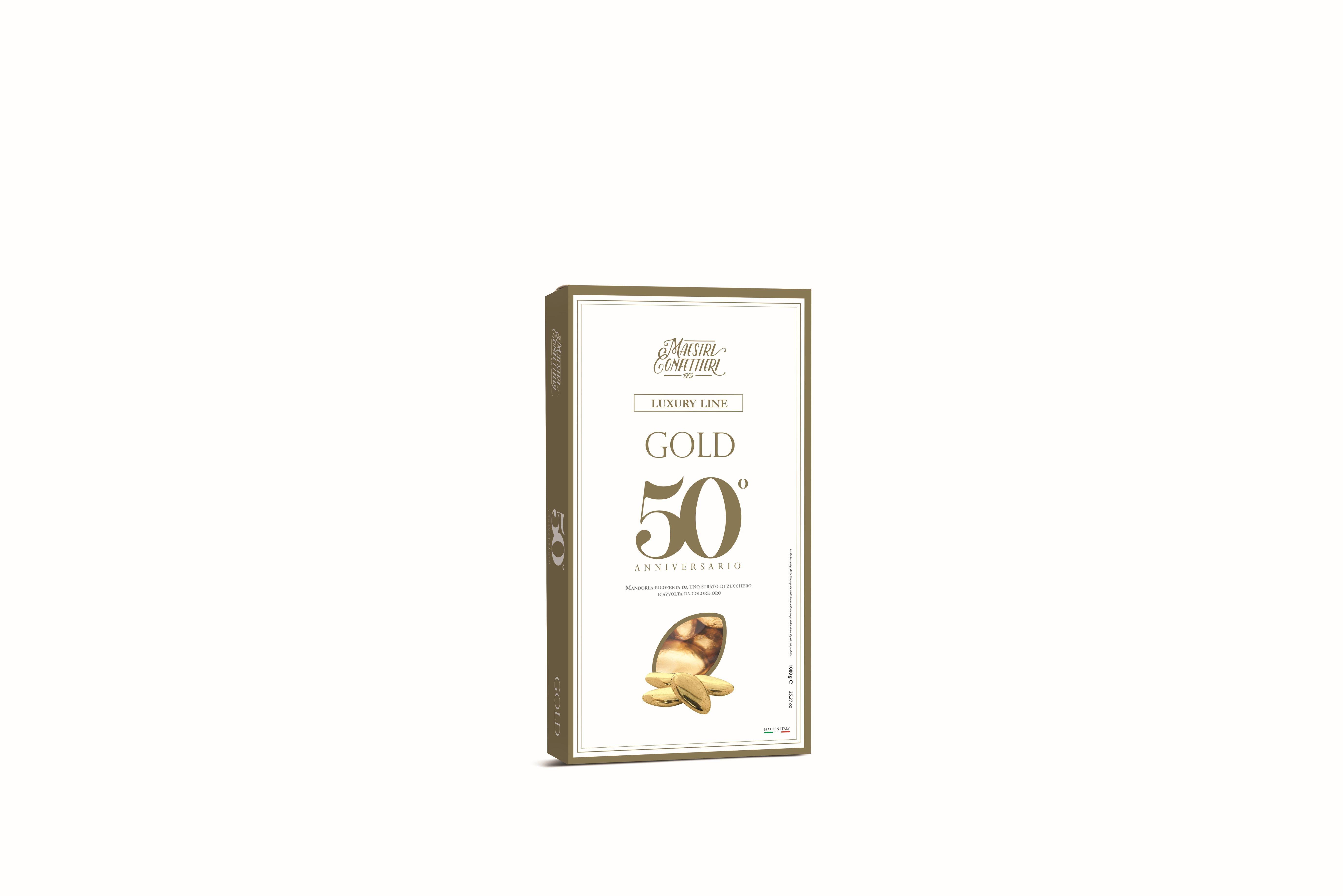 Confetti Maxtris Oro Incartati kg.0.500