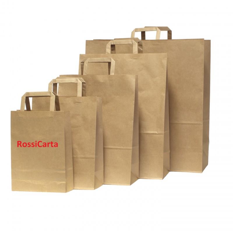 Shopper Avana Riciclato Personalizzabili Maniglia piatta