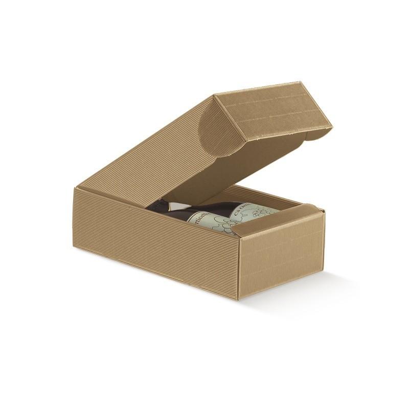 Cantinetta per 2 Bottiglie in Cartoncino Mm. 340x185x90