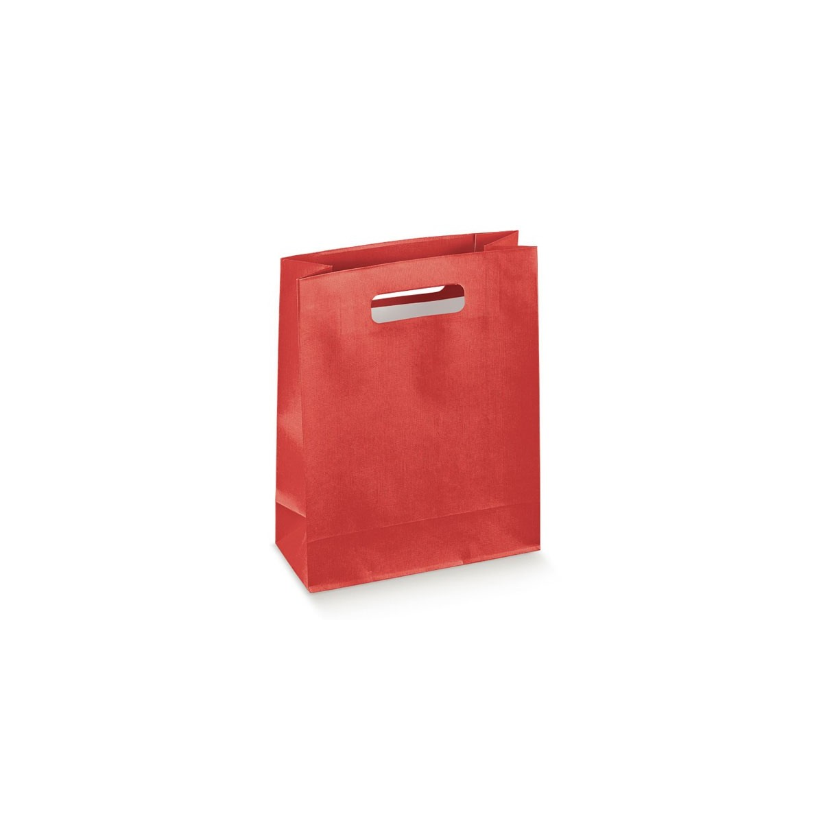 Shopper Box in Carta con Maniglia a Fagiolo 10 Pz.