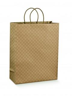 Shopper di Carta Maniglia Cordino 10 Pz.