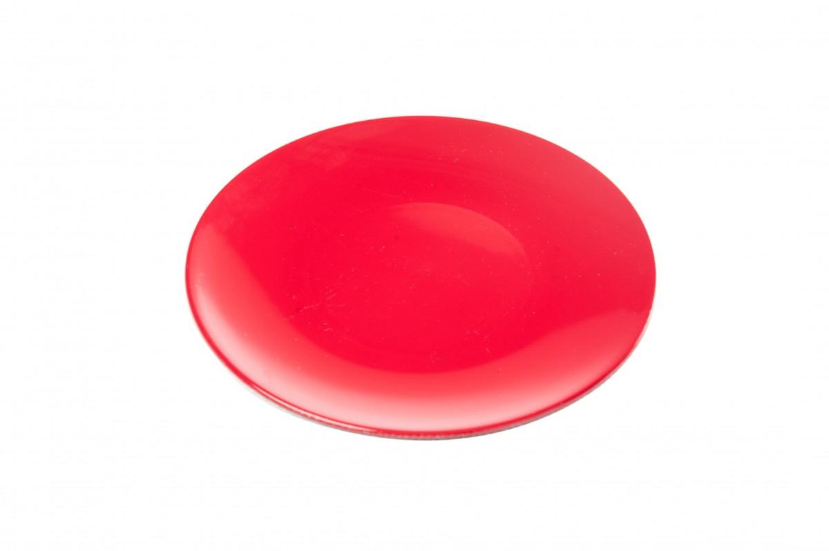 Sottopiatto in plastica dm 22 Rosso