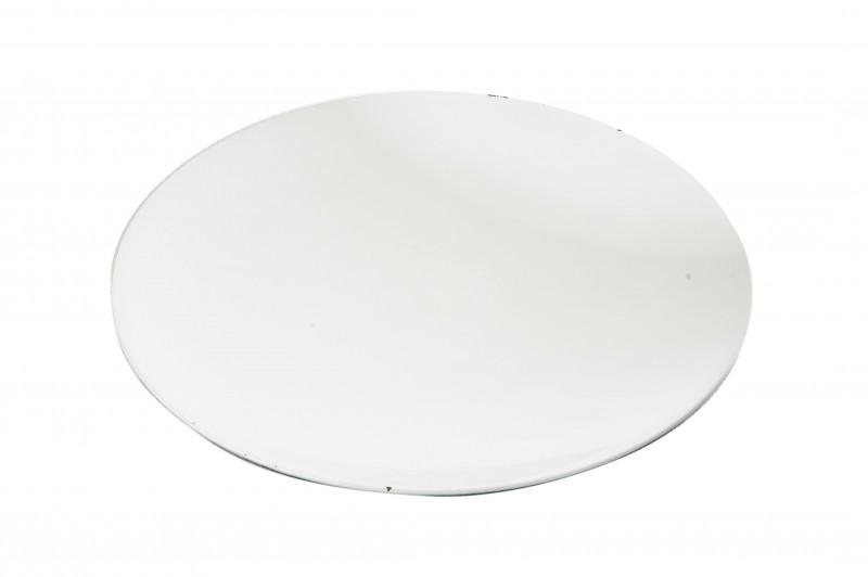 Sottopiatto in plastica dm 45 Bianco