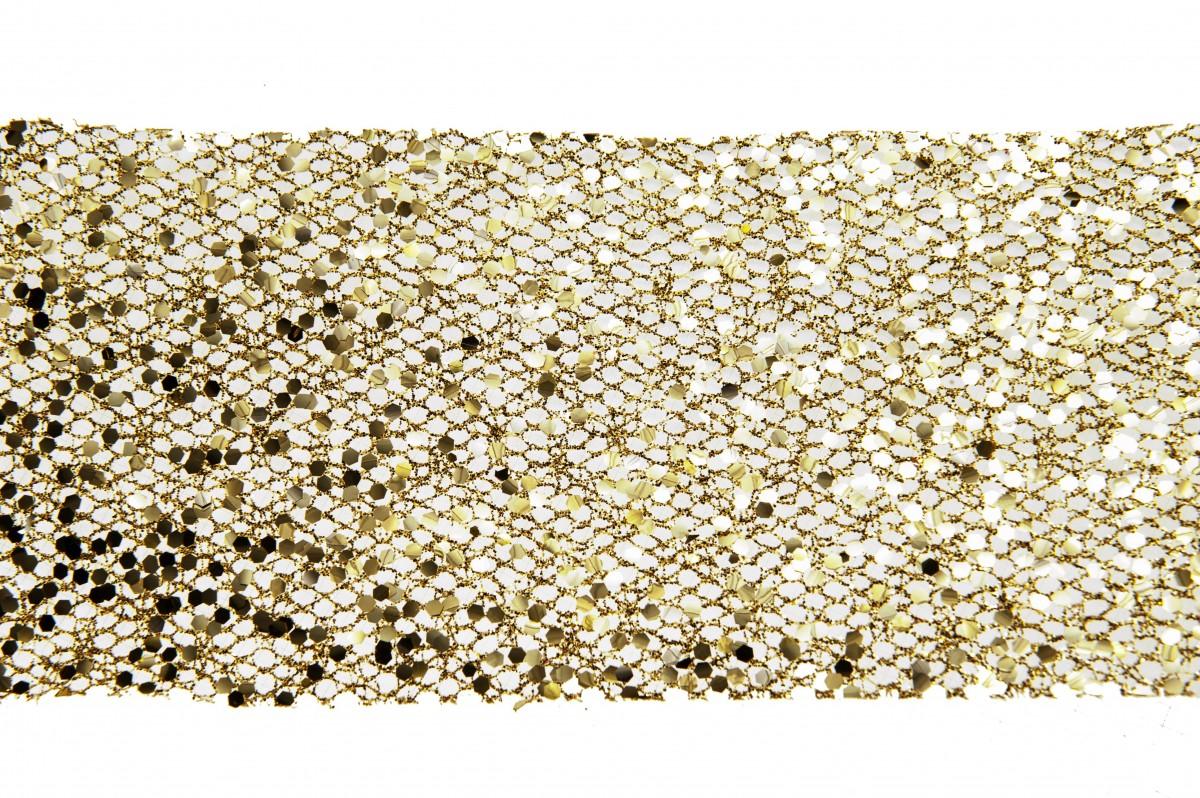 Bobina Palette Net cm 10 x m 25 Oro