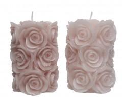 1 Candela Rose Durata 5 ore cm 7 x cm 10