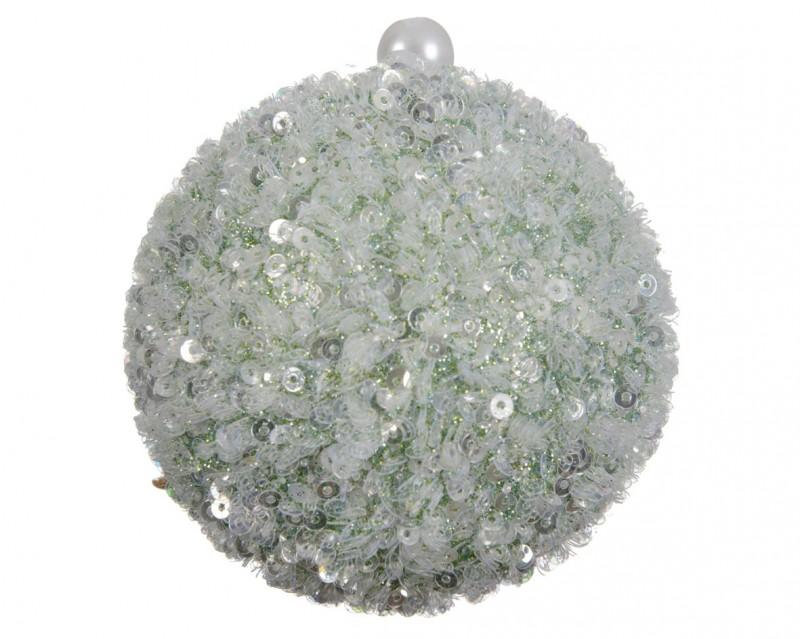 Sfere Paillettes cm 8 pz.4 Tiffany