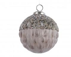 Sfera di vetro Gray Perle mm 11