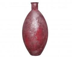Vaso di vetro Ovale Rosa cm 59