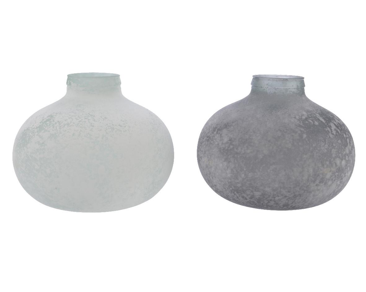 Vaso Tondo Jar Frost cm 27