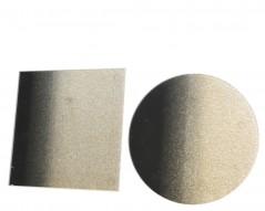 Piatto Satinato Oro diametro 10 cm