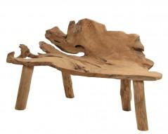 Tavolino in Teak riciclato 55 x 140 x 65