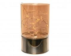 Vaso in Vetro 20 Microled cm 15