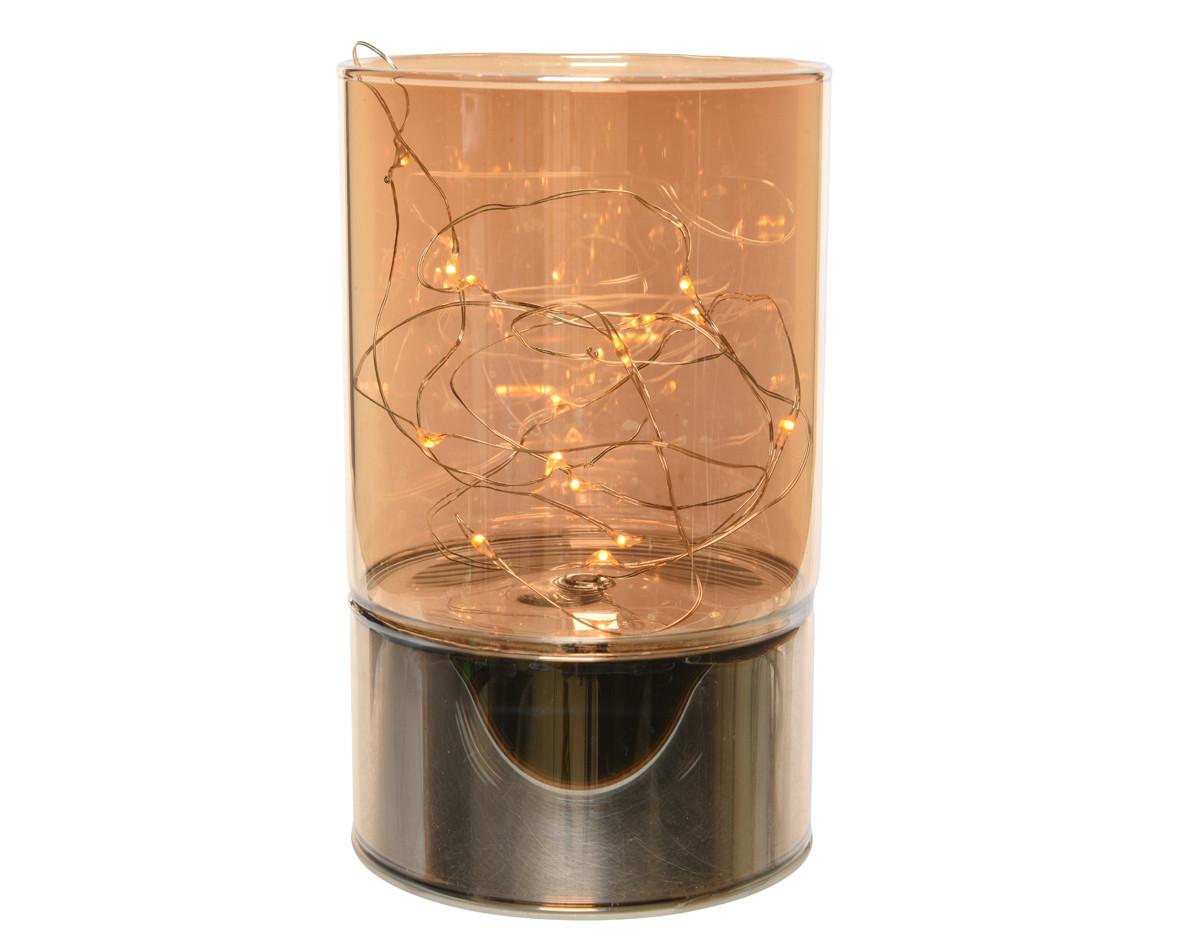 Vaso in Vetro 20 Microled h 15