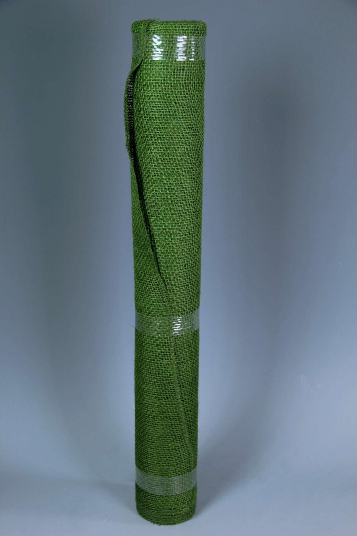 Telo Runner Juta in Rotolo h60 x 5 mt Verde