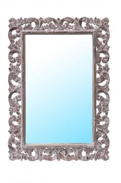 Specchio Legno con Cornice intagliata