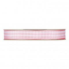 Nastro Vichi mm 10 x 20 mt rosa