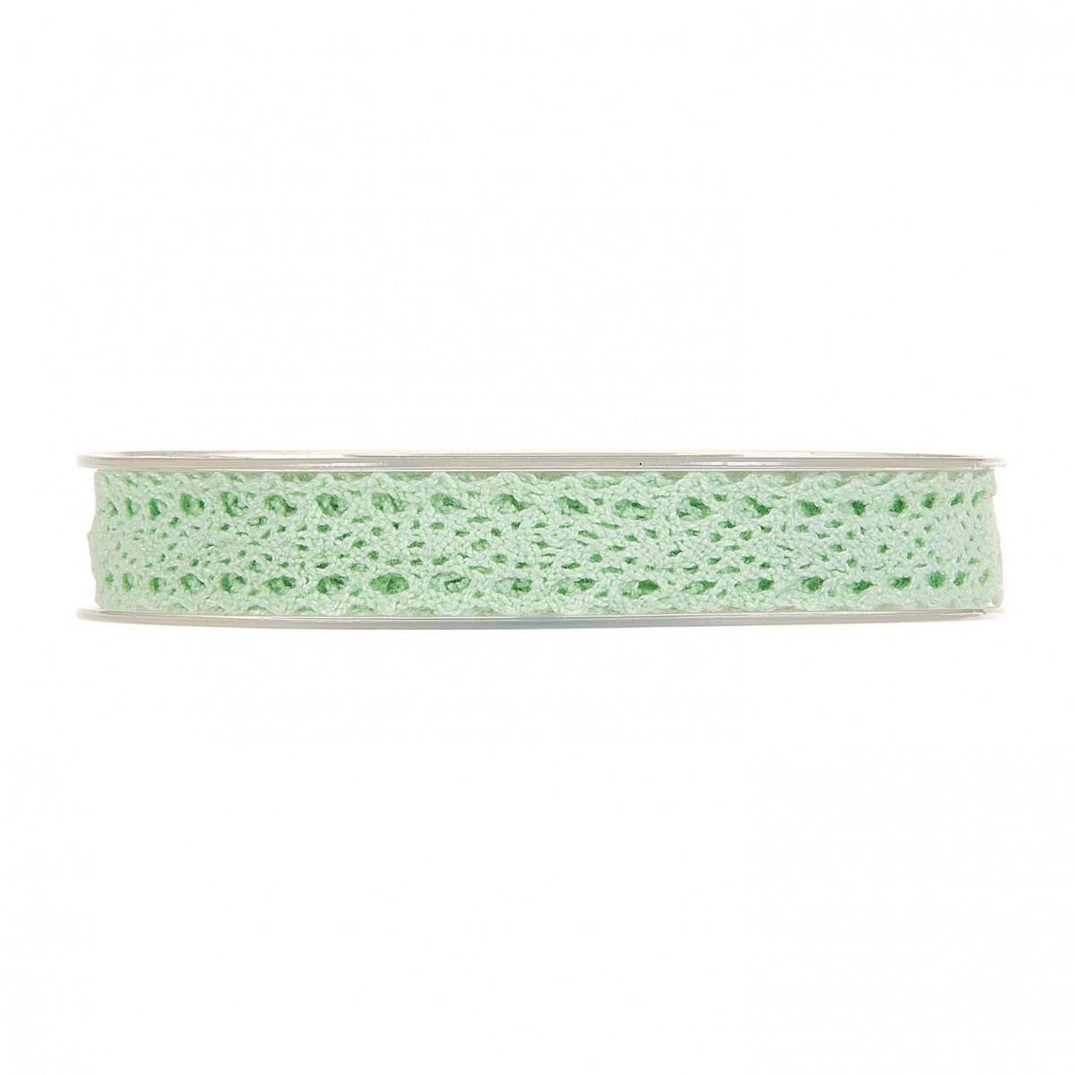 Nastro Small Lace mm 15 x 10 mt verde