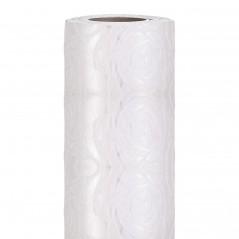 Runner Woven Roses cm 30 x 2,5 mt bianco
