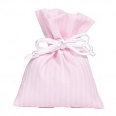 10 Sacchettini Stripes cm 8 x 10 Rosa