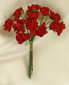Mazzolino Rose Mini pz.144 rosso