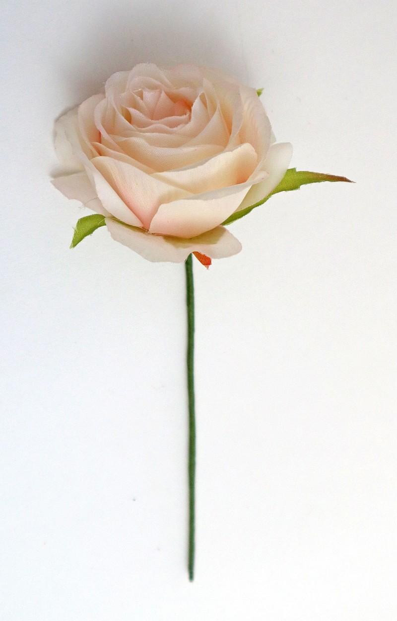 Rosa cm 6 Conf. da 12 pz. Rosa chiaro