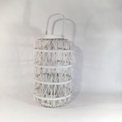 Lanterna Legno e Metallo con vetro