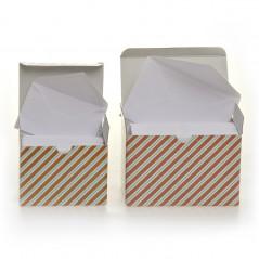 Biglietto+Busta Cartoncino Bianco Confezione 100 Pezzi