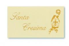 Etichette Cresima stampa Oro blister pz.100