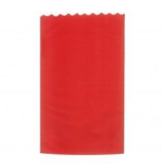 Busta Regalo Tessuto Non Tessuto TNT Colorata Confezione 25 Pezzi Rosso