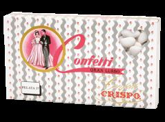 Confetti Crispo Gran Lusso Pelata kg 1 bianco